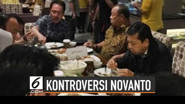 Kontroversi Setya Novanto Selama Jadi Terpidana Korupsi