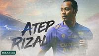 Persib Bandung - Atep Rizal (Bola.com/Adreanus Titus)