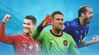 Piala Eropa - Pemain Gaek Euro 2020 (Bola.com/Adreanus Titus)
