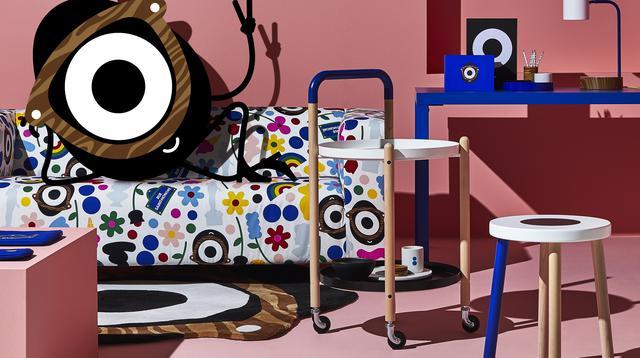 Interior perpaduan fashion dan art. (Foto: Dok. IKEA)