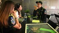 Pembalap Yamaha Tech 3, Johann Zarco tampil kompetitif sepanjang MotoGP 2018. (Twitter/Yamaha Tech 3)