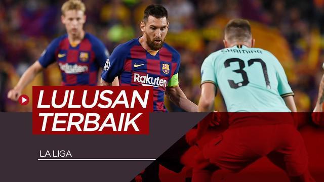Berita video 5 klub dengan akademi terbaik di La Liga saat ini.