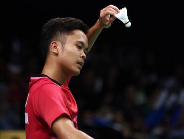 Anthony S Ginting dan Tommy Sugiarto Tersingkir dari Indonesia Open 2017