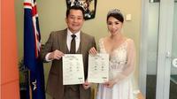 Femmy Permatasari resmi menikah dengan Alfons Martinus di Selandia Baru. (dok.Instagram @femmypermatasari/https://www.instagram.com/p/Bu-Ye1BHcRs/Henry