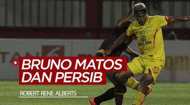Berita video Pelatih Robert Rene Alberts menanggapi soal Bruno Matos yang dikaitkan dengan Persib Bandung.