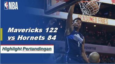 Luka Doncic membukukan 18 poin dan 10 rebound dalam rute Hornet Mavericks 122-84. Dallas hanya memenangkan pertandingan ketiga musim ini.