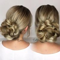 Tataan gaya rambut cantik. (Foto: Instagram/lalasupdos).