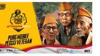 Bertepatan dengan peringatan HUT RI ke-74, PUBG Mobile galang dana untuk veteran Indonesia (Foto: PUBG Mobile)