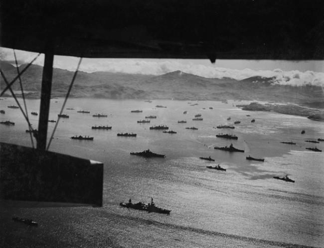 Persiapan invasi ke Pulau Kiska pada Perang Dunia II. (Sumber Wikimedia/ranah publik)