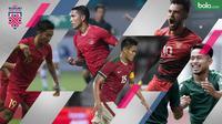 Beberapa pemain berpengalaman mengisi skuat Timnas Indonesia di Piala AFF 2018. (Bola.com/Dody Iryawan)