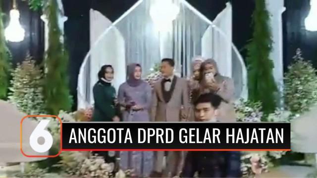 Sebuah video pernikahan di masa PPKM level 3-4 di Banyuwangi, Jawa Timur, viral dan tersebar luas di media sosial. Yang mengejutkan, penyelenggara resepsi merupakan anggota DPRD Banyuwangi.
