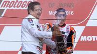 Marc Marquez (AP Photo/Shizuo Kambayashi)