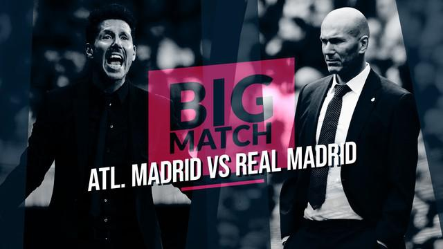 Berita Video Pembuktian Zinedine Zidane saat Atletico Madrid Vs Real Madrid