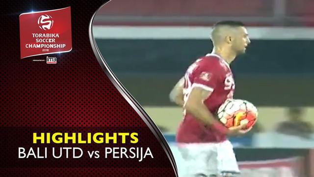 Video highlights TSC 2016 antara Bali United vs Persija Jakarta yang berakhir dengan skor 1-1 di Stadion Kapten I Wayan DIpta.
