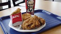 Ilustrasi restoran cepat saji KFC (AP/Michael Dwyer)