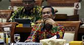 Direktur Utama PT Asabri, Sonny Widjaja menghadiri rapat dengar pendapat dengan Komisi XI DPR RI di kompleks Parlemen, Jakarta, Rabu (29/1/2020).  Komisi XI ingin mengetahui Kinerja Keuangan Asabri dan penjelasan terkait bentuk serta hasil dari Investasi yang dilakukan. (Liputan6.com/Johan Tallo)