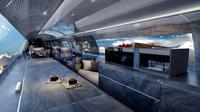 Rancangan kabin tanpa pesawat yang diusulkan sebuah perusahaan penerbangan di Amerika Serikat. (dok. RosenAviation)