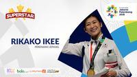 Superstar Rikako Ikee (Bola.com/Adreanus Titus)