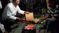 Calon Gubernur Jawa Timur, Saifullah Yusuf, berkunjung ke Alun-alun Trenggalek