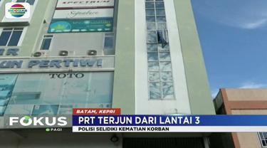 Asisten rumah tangga di Tanjungpinang, Kepulauan Riau, meregang nyawa diduga loncat dari lantai tiga ruko tempatnya bekerja.
