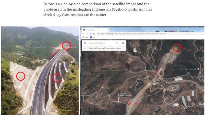 Cek Fakta Liputan6.com menelusuri klaim foto jalan tol terkeren di Indonesia