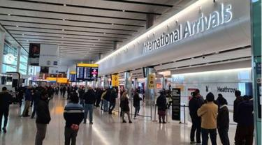 Bandara Heathrow di London, Inggris