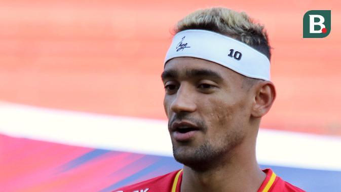 Bruno Matos, gelandang serang Madura United. (Bola.com/Aditya Wany)