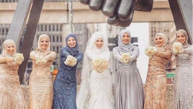 Inspirasi Gaun Pengantin Muslimah Untuk Anda Yang Berhijab Fashion