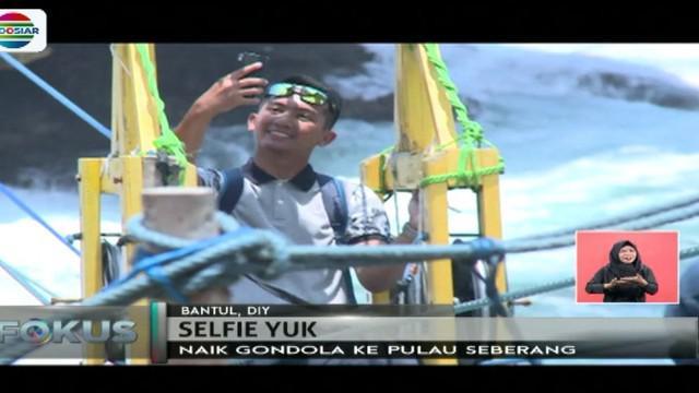 Pantai Timang disebut juga 'Little Bali' karena memiliki bentuk pulau-pulau yang mirip dengan Pulau Dewata.