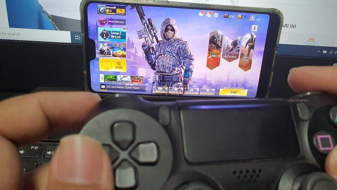 Call of Duty Mobile kini bisa dimainkan dengan kontroler (Liputan6.com/Agustinus M.Damar)