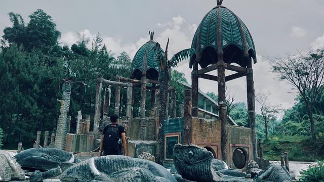 044545500 1573825592 KAMPUNG GAJAH 4 - Potret Suram Kampung Gajah, Wahana Bermain yang Kini Terlupakan