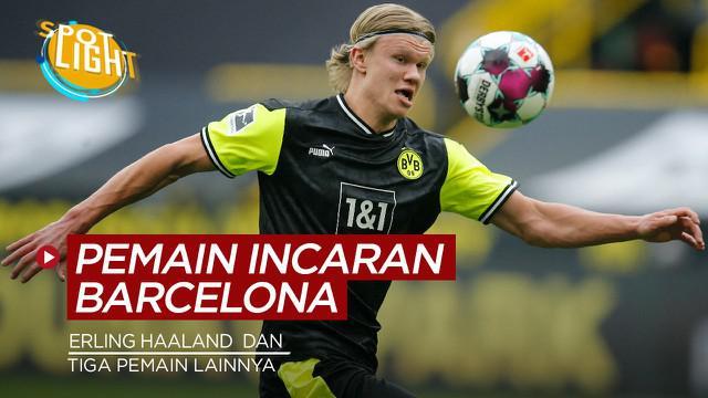 Berita video spotlight tentang empat pemain bidikan Ronald Koeman untuk Barcelona untuk musim depan.
