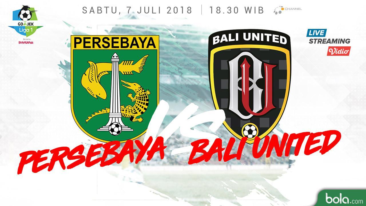 Liga 1 2018 Persebaya Surabaya Vs Bali United (Bola.com/Adreanus Titus)