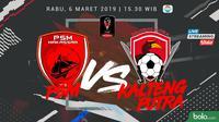 Jadwal Grup C Piala Presiden 2019, PSM Makassar vs Kalteng Putra. (Bola.com/Dody Iryawan)
