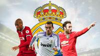 Real Madrid - Fabinho, Wesley Sneijder, Juan Mata (Bola.com/Adreanus Titus)