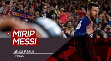 Berita video sebuah studi mencari siapa yang paling mirip Lionel Messi dari 71.600 pemain.