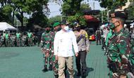 Pilkada serentak di Jabar, 4.864 personel TNI-Polri disiagakan. (Liputan6.com/Dikdik Ripaldi)
