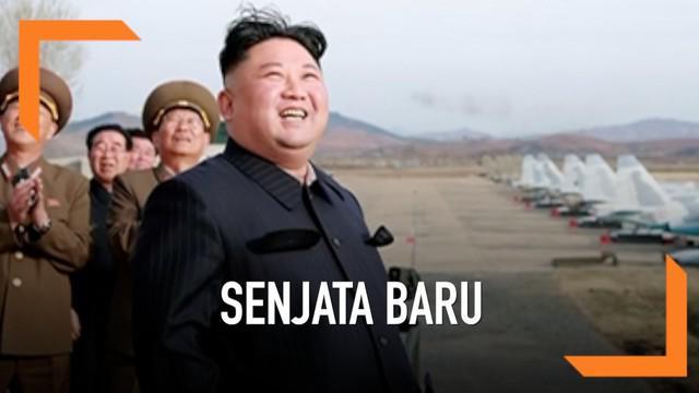 Pemimpin Korea Utara Kim Jong-un memimpin uji coba senjata baru yang diklaim memiliki tenaga penghancur yang kuat.