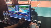Instant Replay System yang dipakai di DBL seri Jakarta (Thomas /Liputan6.com)