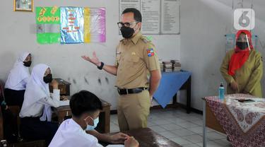 FOTO: Pemkot Bogor Uji Coba Pendidikan Tatap Muka di 37 Sekolah