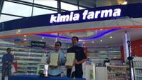 AP II dan Kimia Farma akan berkolaborasi untuk pengiriman logistic melalui kargo Bandara Soekarno Hatta. (Foto:Liputan6.com/Pramita T)
