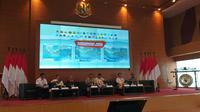 BMKG menjelaskan kondisi iklim dan potensi cuaca ektream akan terjadi di November 2019. (Merdeka.com/Intan Umbari Prihatin)