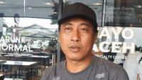 Mantan pemain Persebaya Surabaya, Mursyid Effendi. (Bola.com/Abdi Satria)