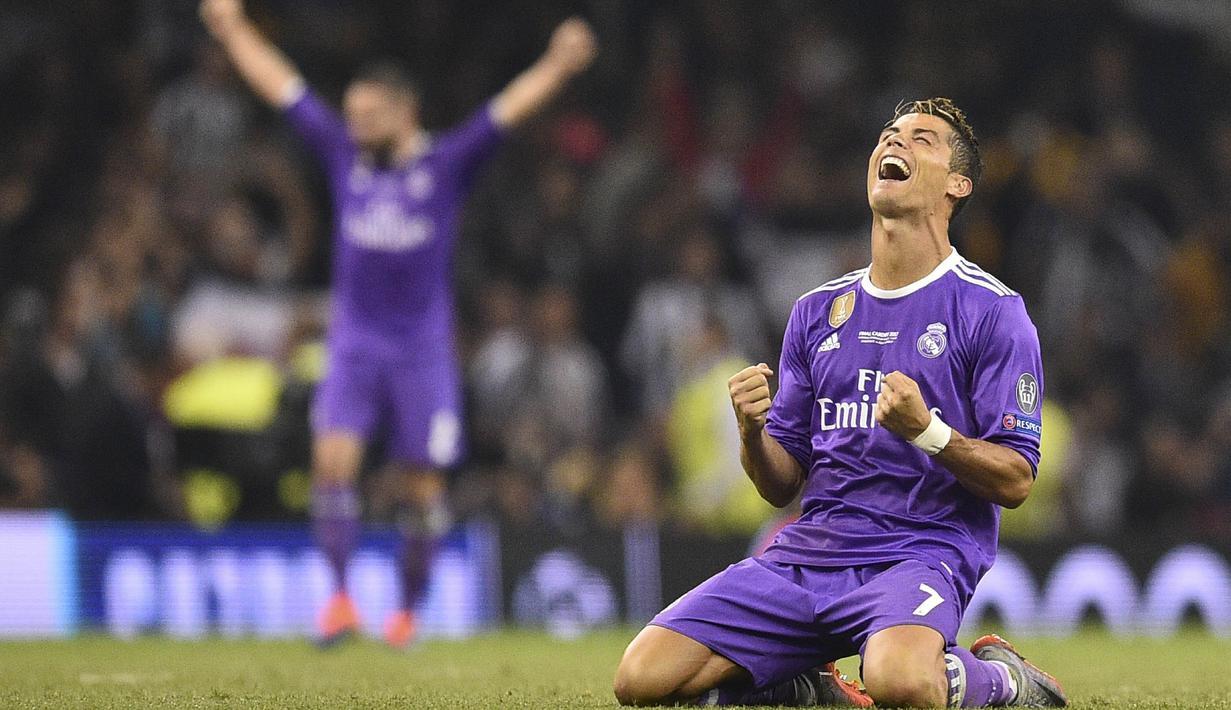 FOTO: Permalukan Juventus, Madrid Juara Liga Champions 2016-2017 ...
