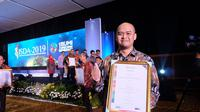 Antam mendapat penghargaan peringkat pada Indonesian Gold Sustainable Development Goals (SDGs)