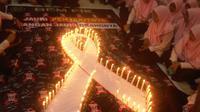 1.000 lilin untuk penderita HIV/AIDS (Liputan6.com/ Dhimas Prasaja)