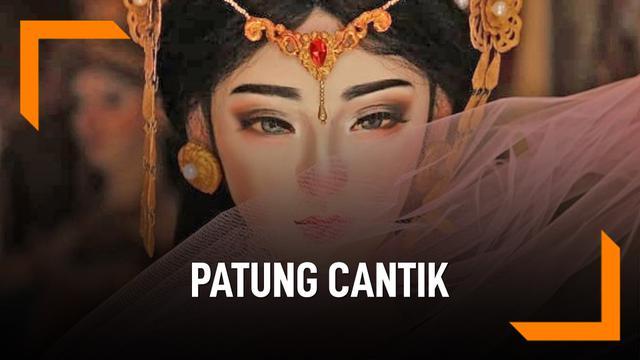 Cantik Banget, Patung Ini Buatan Seniman Bali