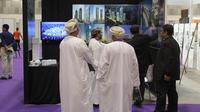 Pameran Builders International Gathering (BIG Show) Oman yang diikuti arsitek Indonesia. (Sumber: KBRI Muscat)