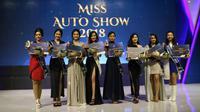 Para gadis cantik ini telah menjadi delapan besar Miss Auto Show 2018, satu diantaranya menjadi pemenang yaitu Vivan Wijaya dari Lexus.