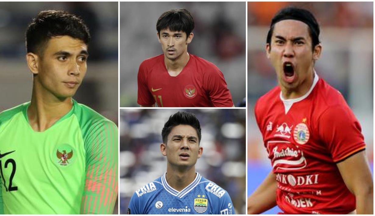 Berikut ini para pesepak bola indonesia yang berparas tampan.